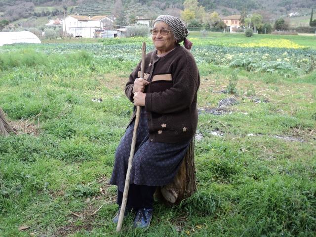 Signora di campagna